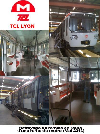 nettoyage metro