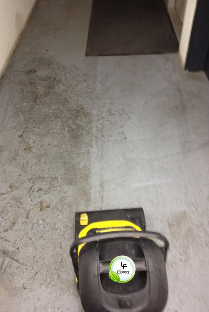 Nettoyage d'une cage d'escaliers lyon
