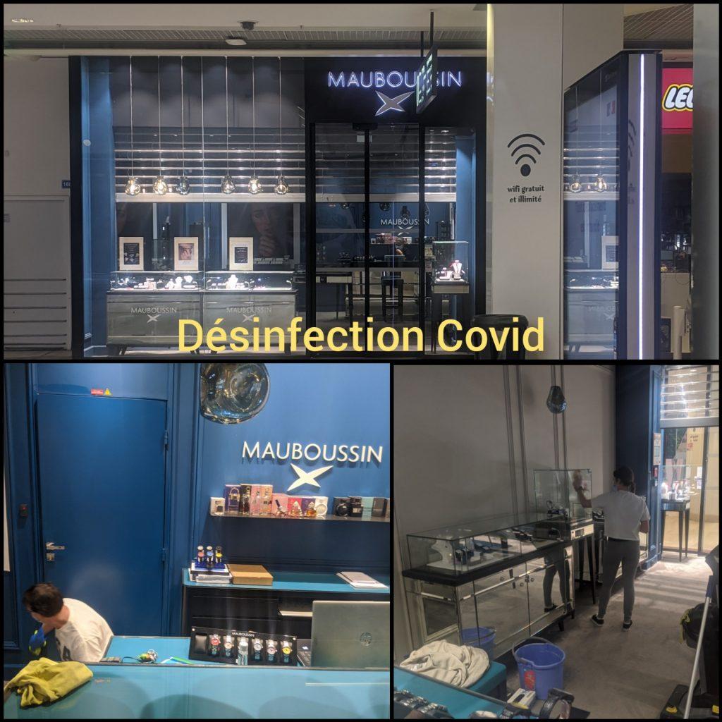 Désinfection covid lyon
