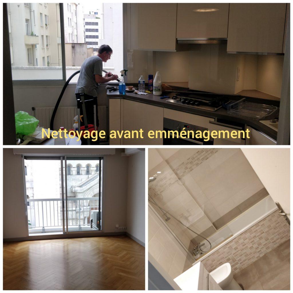 Nettoyage avant demenagement à Lyon